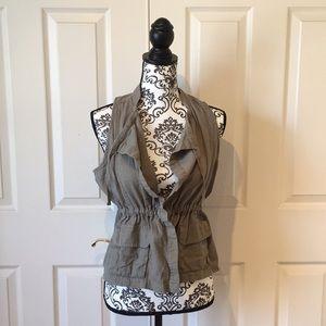 Rubbish Draw String Vest